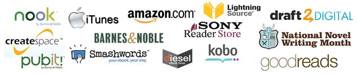 publishing logos