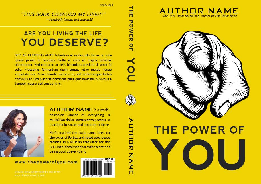 You DIY Book Cover Templates