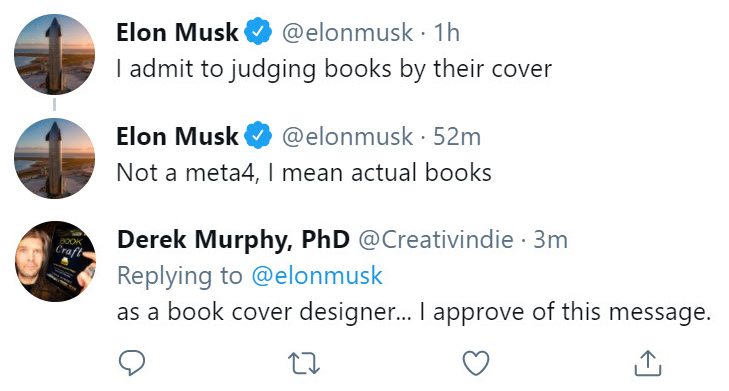 musk-covers-tweet Free book design templates and tutorials for self-publishing authors