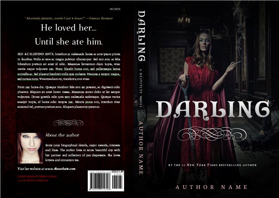 darlingfull DIY Book Cover Templates